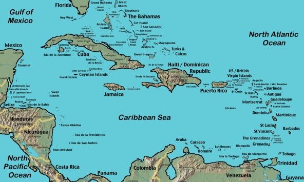 caribbean-sea-map